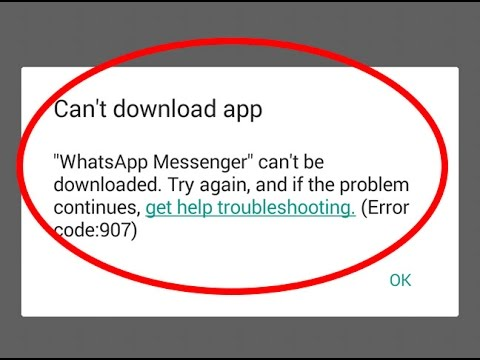 Fix-Google-Play-Error-Code-907-in-Android